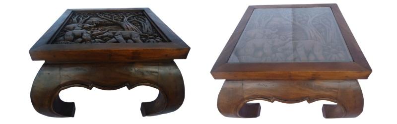 asia moebel im asia wohnstudio opiumtische thaikissen. Black Bedroom Furniture Sets. Home Design Ideas