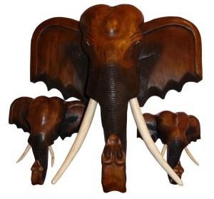Elefanten aus Holz