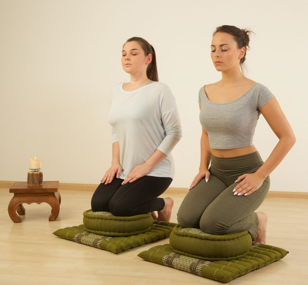 Asia Wohnstudio Zafus als Meditationskissen