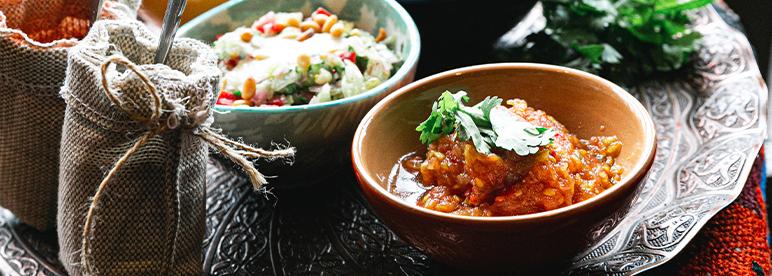 Grillgemüse asiatisch Dips