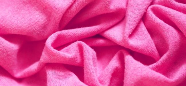 Pinkes Tuch